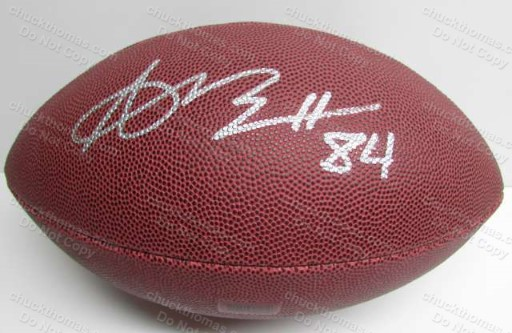 Steeler Receiver Antonio Brown Autographed FULL Size Football NICE !