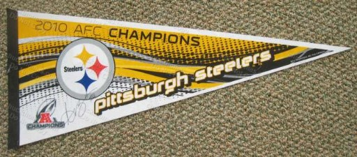 Steeler Receiver Antonio Brown Autographed Pennant