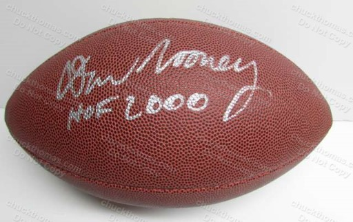 Steeler Owner Dan Rooney Signed FULL Size Football with a GAI Certificate