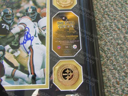1970s Steel Curtain Autographs