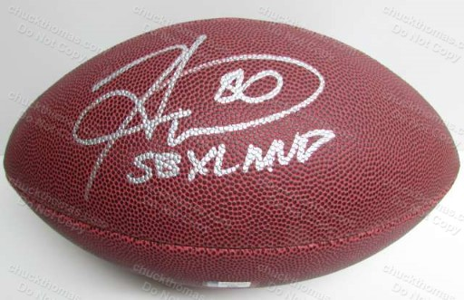 Steeler Hines Ward Autographed FULL Size Football