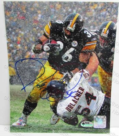 Jerome Bettis Autographed Action Photo