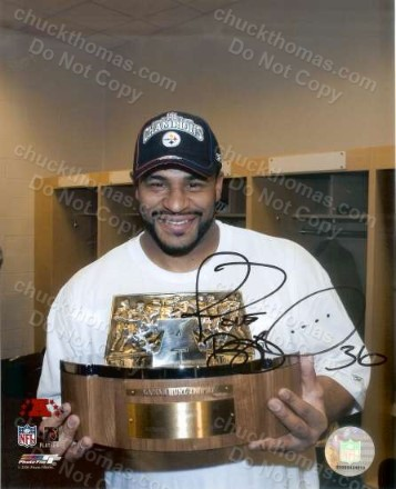 Jerome Bettis Signed 8x10 Photo