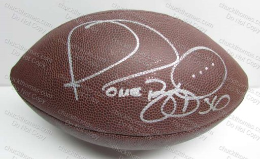 Jerome Bettis Autographed Football