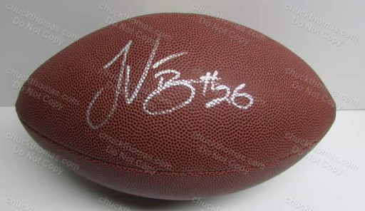 Steeler LeVeon Bell Autographed Wilson Football