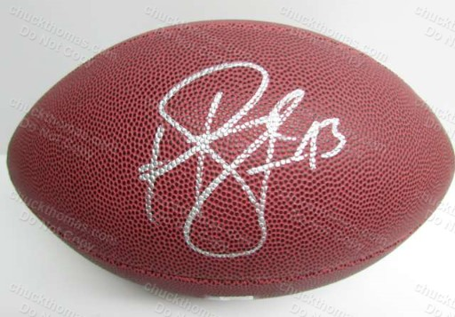 Steeler Troy Polamalu Autographed FULL Size Football