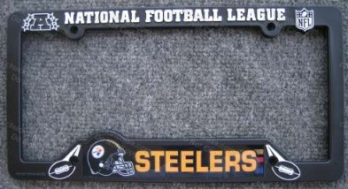 Steelers License Plate Frame