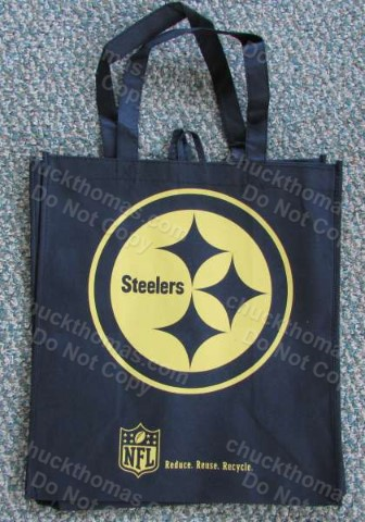 Steeler Logo Gift Bag