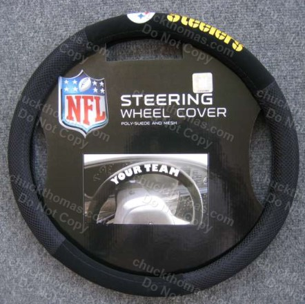 Steeler Steering Wheel Cover