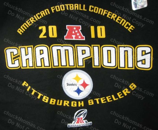 Steelers 2010 AFC Champs Tee