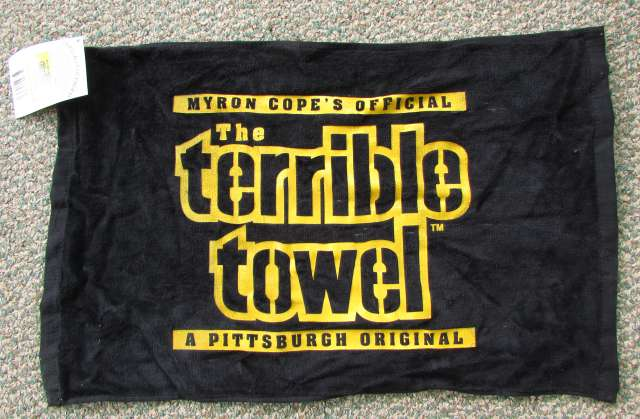 Black Terrible Towel