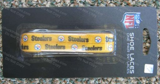 Steeler Black or Gold Shoe Laces