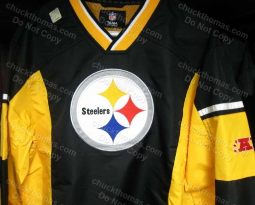 Steelers Black and Gold Windbreaker