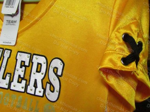 Gold Women Steeler Jersey