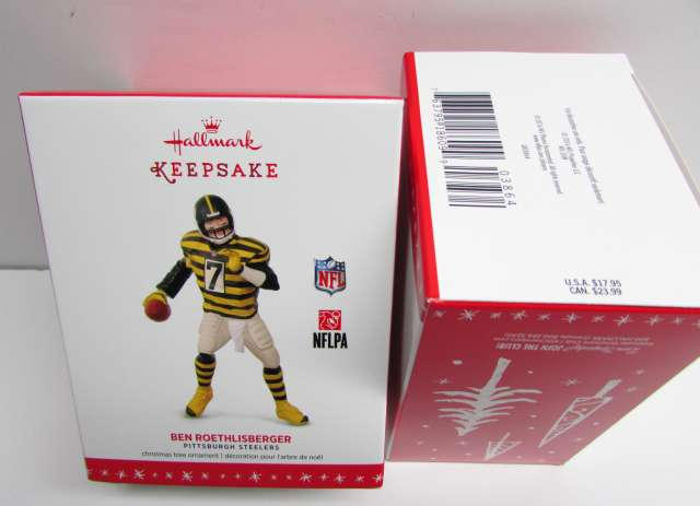 2016 Ben Roethlisberger Hallmakr Ornmanet Bubmlebee Jersey NEW in The Box