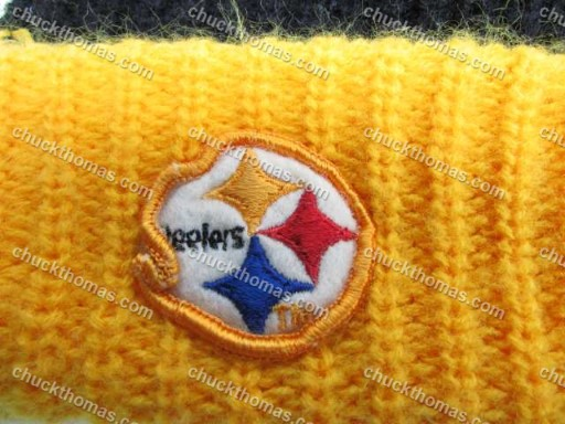 "Steelers 1980s Knit Tossel Hat Just Like the One in ""This is US"" TV Show"