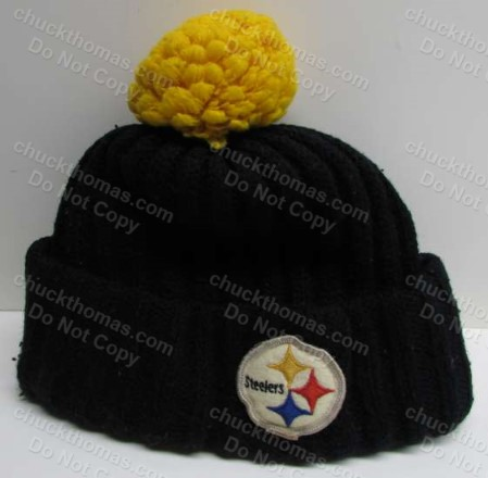 Steeler Old 1980s Knit Tossel Hat