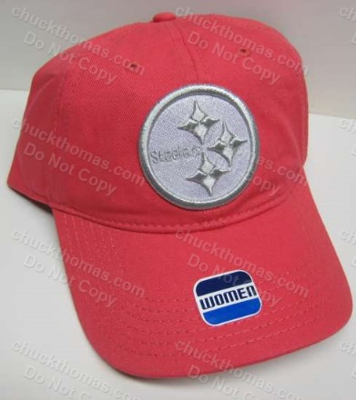 Steelers Pink/Salmon Ball Cap