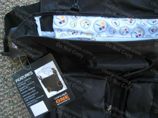 Steeler Diaper Bag VERY NICE !