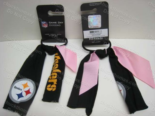 Steeler Pony Tail Holder