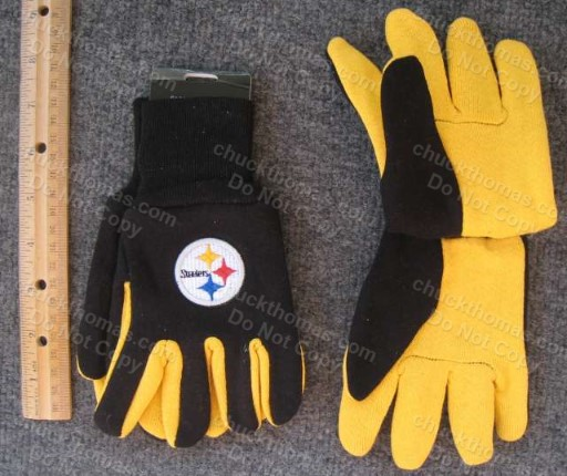Steeler Kids Sport Utility Gloves