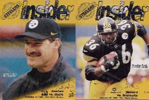 1998 Steeler Game Programs