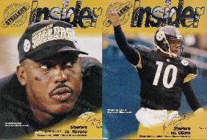 1998 Steeler Insider Game Programs