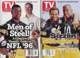 Pittsburgh Steelers Kordell Stewart & Jerome Bettis On TV Guide