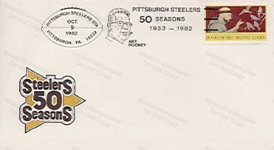Steelers 50 Seasons Cachet