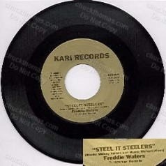 Steelers Steal It 45 rpm Record