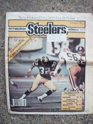 Steeler Weekly Franco Harris Cover