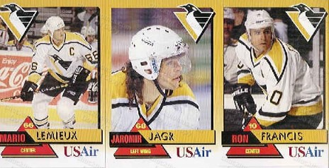 US Air Penguin Cards